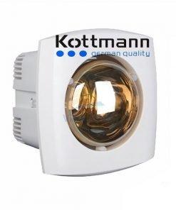 Đèn sưởi nhà tắm âm trần 1 bóng Kottmann K1A